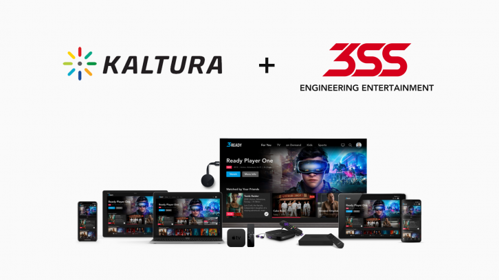 Kaltura, 3SS partner to enable Cloud TV services - TVBEurope